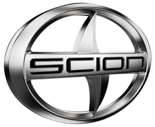 Logo of a Scion automotive car brand