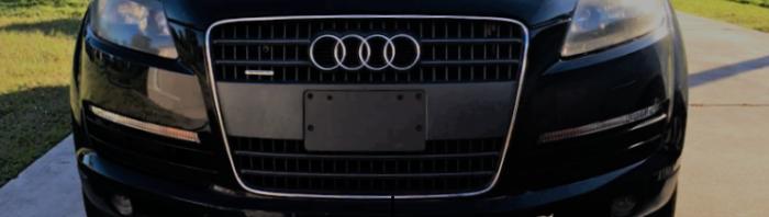Audi Q7 Hood Lift Strut Replacement