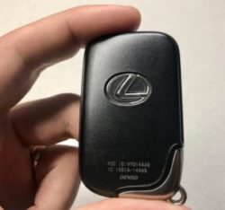 New unregistered blank Lexus IS250 IS350 Smart Key Proximity fob