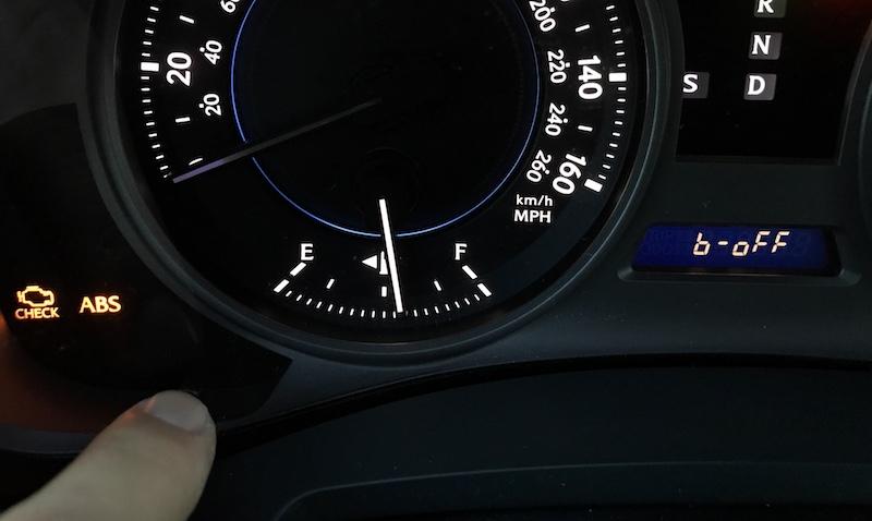 How to turn off disable Lexus Toyota seat belt seatbelt warning buzzer alarm chime beep beeper bell IS GS LS RX GX IS-F CT ES GS-F LX NX RC-F RC Hybrid SC Push Start Button ODO B-Off