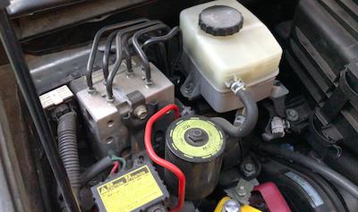 Toyota Lexus faulty brake actuator booster pump accumulator C1391 C1252 C1253 C1256 ABS leak abnormal pressure brake